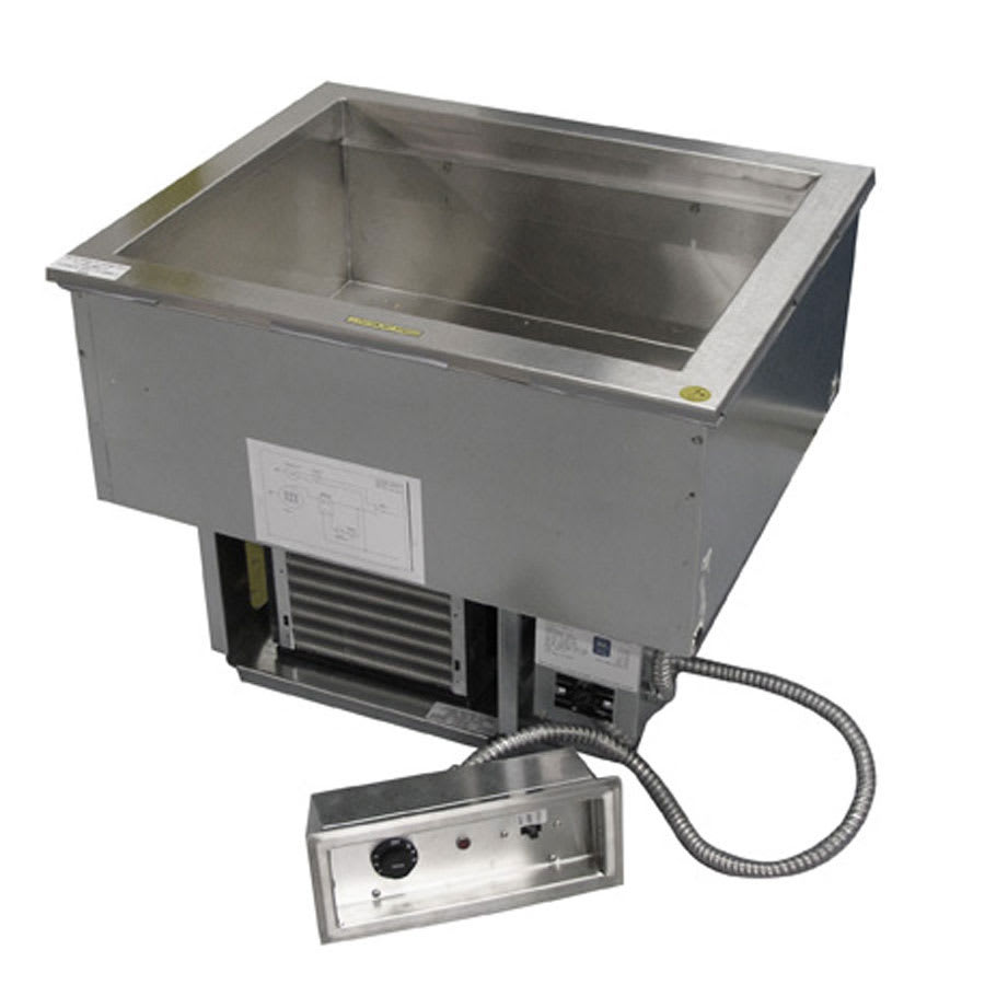 Delfield N8681 Drop-In Hot & Cold Food Well w/ (6) Full Size Pan Capacity, 120-240v/1ph