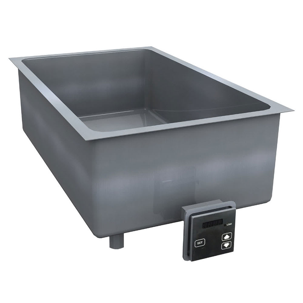 "Delfield N8731-DESP 31"" Drop-In Hot Food Well w/ (2) Pan Capacity, 208-230v/1ph"