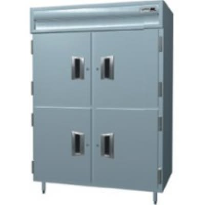 """Delfield SAF2S-SH 56"""" Two Section Reach-In Freezer, (4) Solid Doors, 115v"""