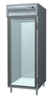 Delfield SAH1-G Single Reach-In Hot Food Cabinet w/ Full Glass, 24.96-cu ft, 120/208-230V