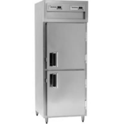 Delfield SAH1-SH Single Reach-In Hot Food Cabinet w/ Half Solid, 24.96-cu ft, 120/208-230V