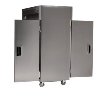 Delfield SAHPT2-S 2-Section Pass-Thru Hot Food Cabinet w/ Solid Full Door, 120/208-230 V