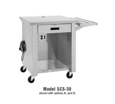 "Delfield SCS36 36"" Cashier Counter w/ Locking Cash Drawer, Stainless Top"