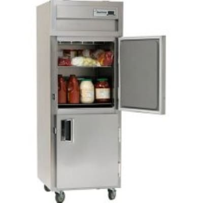 """Delfield SMF1-SH 29"""" Single Section Reach-In Freezer, (2) Solid Doors, 115v"""