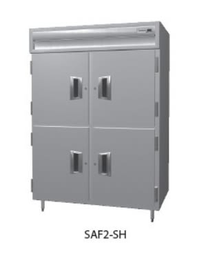 "Delfield SMF2-S 56"" Two Section Reach-In Freezer, (4) Solid Doors, 115v"