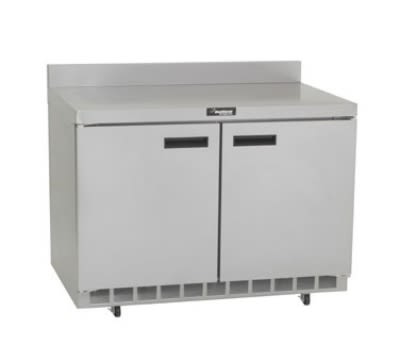 """Delfield ST4448N 48"""" Work Top Refrigerator w/ (2) Sections, 115v"""