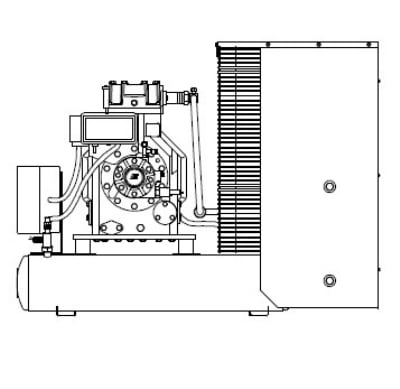 Delfield T40CU Remote Condensing Unit For T40