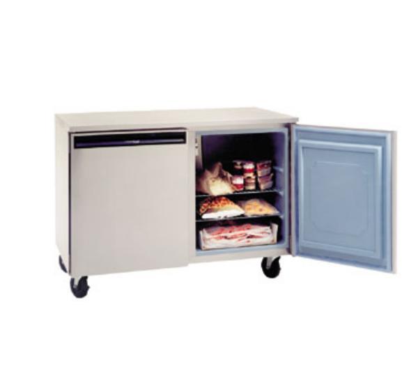 Delfield UC4148 11.4-cu ft Undercounter Freezer w/ (2) Sections & (2) Doors, 115v