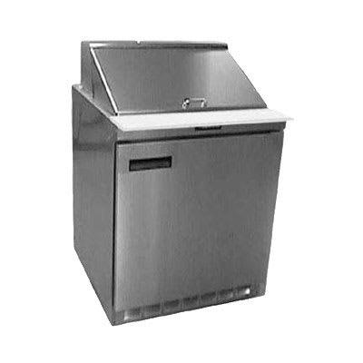 "Delfield UC4427N-6 27"" Sandwich/Salad Prep Table w/ Refrigerated Base, 115v"