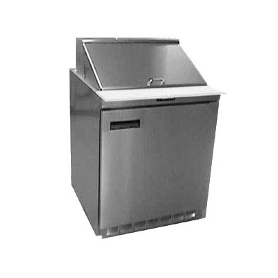 "Delfield UC4427N-9M 27"" Sandwich/Salad Prep Table w/ Refrigerated Base, 115v"