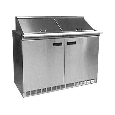 "Delfield UC4448N-12 48"" Sandwich/Salad Prep Table w/ Refrigerated Base, 115v"