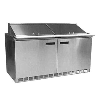 "Delfield UC4460N-18M 60"" Sandwich/Salad Prep Table w/ Refrigerated Base, 115v"