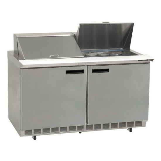 "Delfield UC4460N-8 60"" Sandwich/Salad Prep Table w/ Refrigerated Base, 115v"