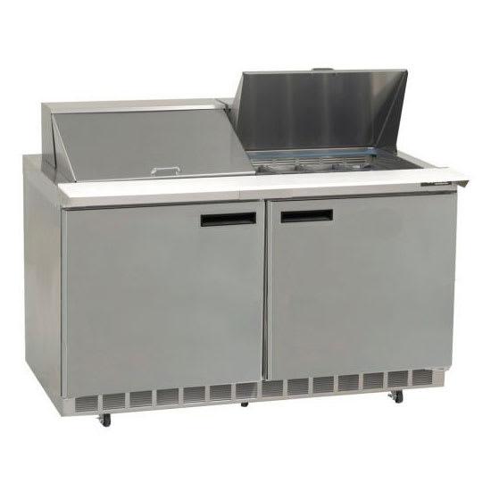 "Delfield UC4464N-8 64"" Sandwich/Salad Prep Table w/ Refrigerated Base, 115v"
