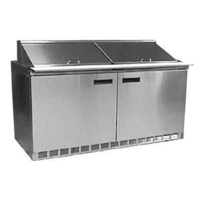 "Delfield UCD4464N-16 64"" Sandwich/Salad Prep Table w/ Refrigerated Base, 115v"