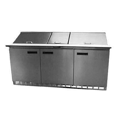 "Delfield UCD4472N-30M 72"" Sandwich/Salad Prep Table w/ Refrigerated Base, 115v"