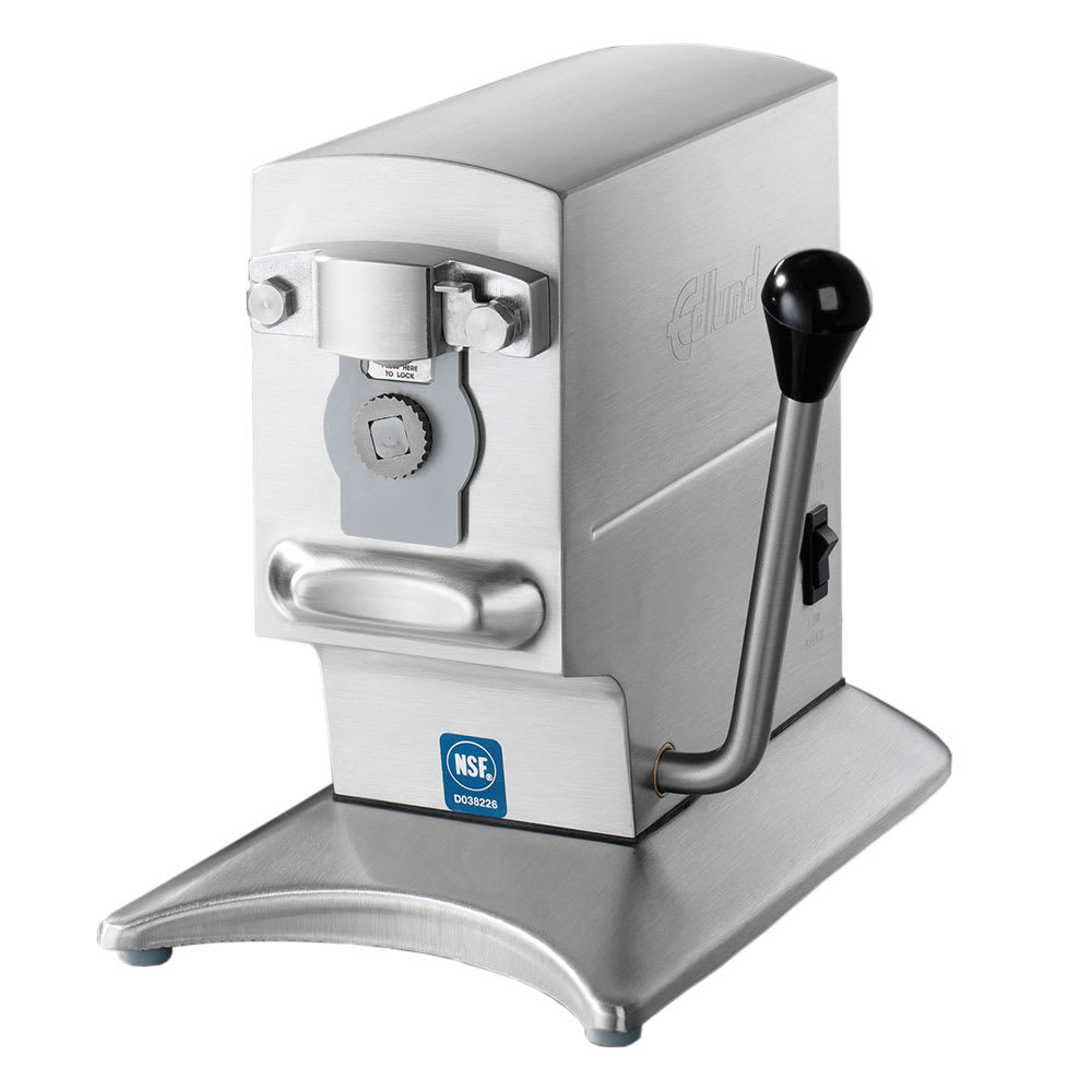 Edlund 270B/230V Heavy Volume 2 Speed Can Opener, 200 Cans Per Day, Bracket, 230v/1ph
