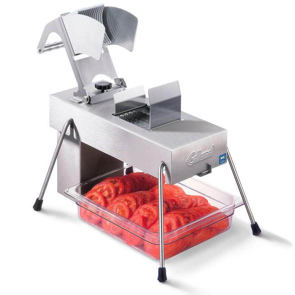 """Edlund 354/115V Stainless Steel Food Slicer, 1/4"""" Blades, Soft Fruits, 115v"""