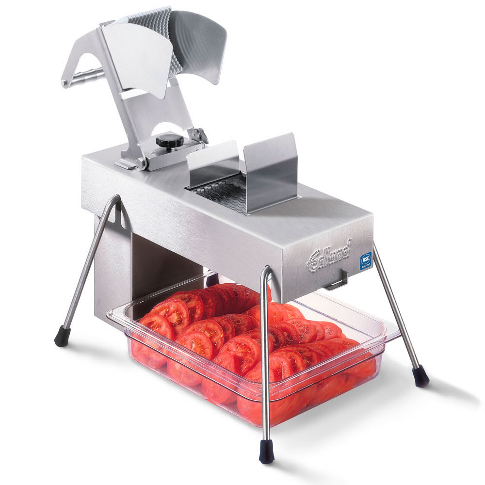 "Edlund 356/230V Stainless Steel Food Slicer, 3/16"" Blades, Soft Fruits, 230v/1ph"