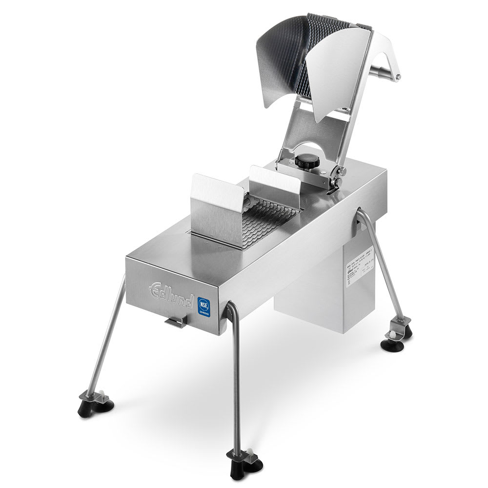 "Edlund 358XL/115V Stainless Food Slicer, 3/8"" Blades, Soft Fruit, Veggies, Chicken, 115v"