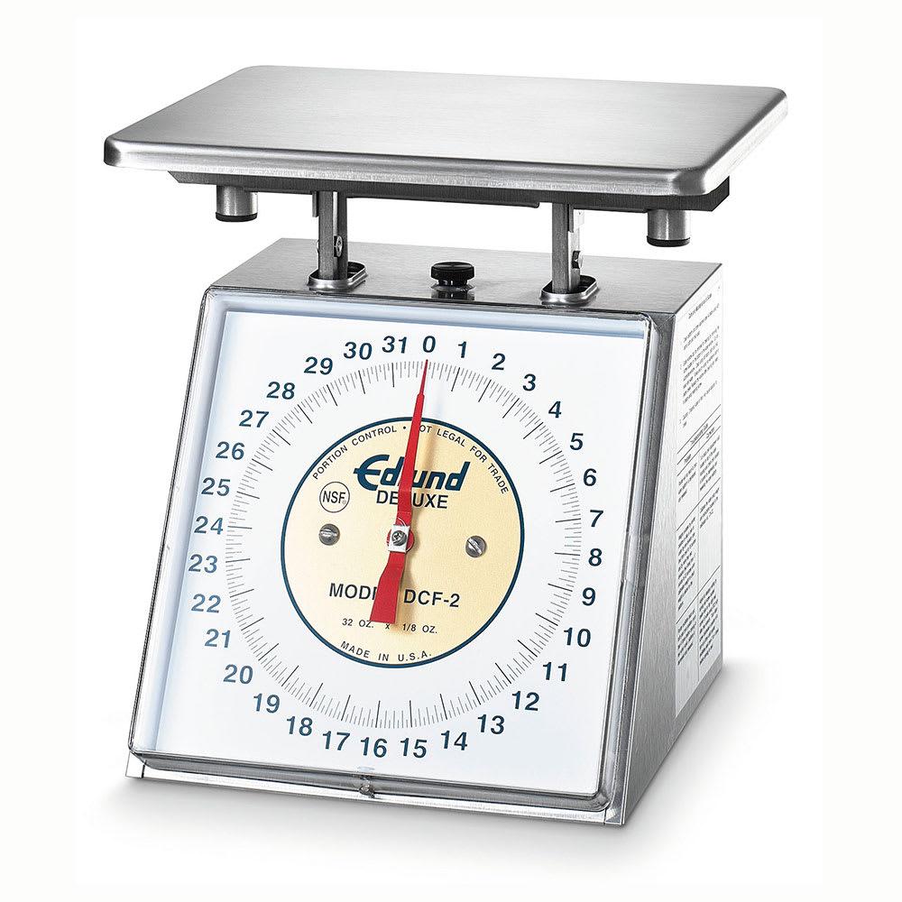 Edlund DCF-2 Scale, Portion Control, Fixed Dial, Dishwasher Safe, 32 oz X 1/8 oz