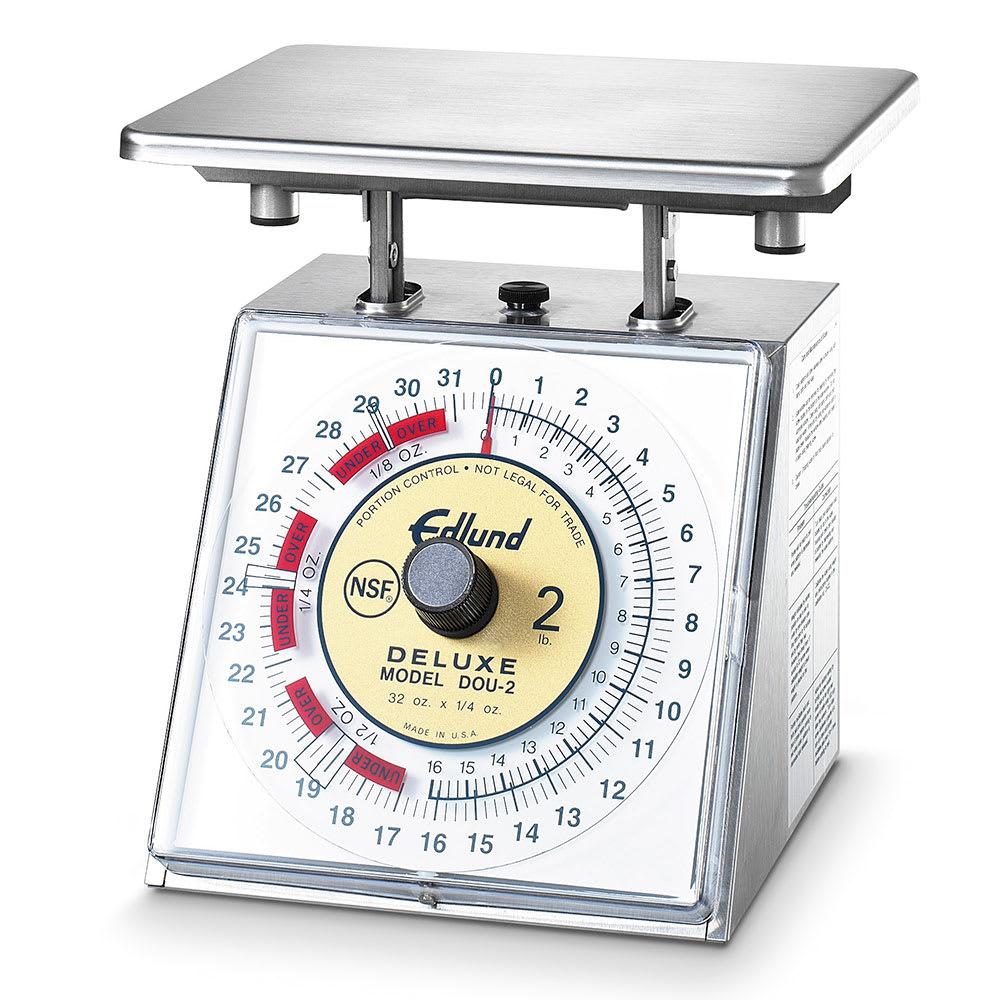 Edlund DOU-2 Dial Type Portion Scale w/ 32 oz x 1/4 oz Graduation, Stainless