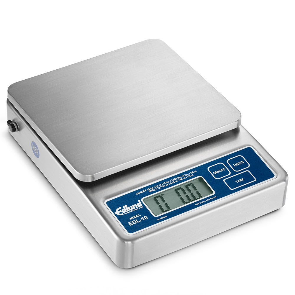 Edlund EDL-10 Digital Scale w/ (6) Capacity Display Options, LCD