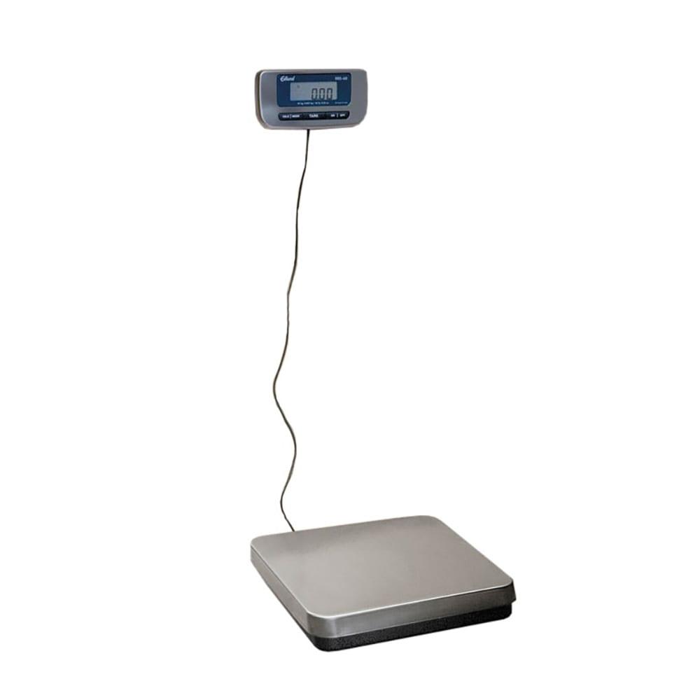 Edlund ERS-150 Digital Receiving Scale w/ 150-lbs x .05-lbs, LCD