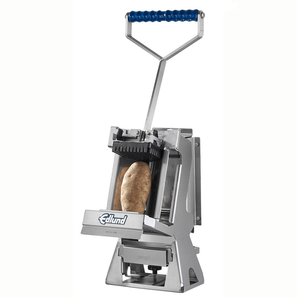 """Edlund FDWW-012 Wall-Mount Manual 1/2"""" Dicer - Stainless"""