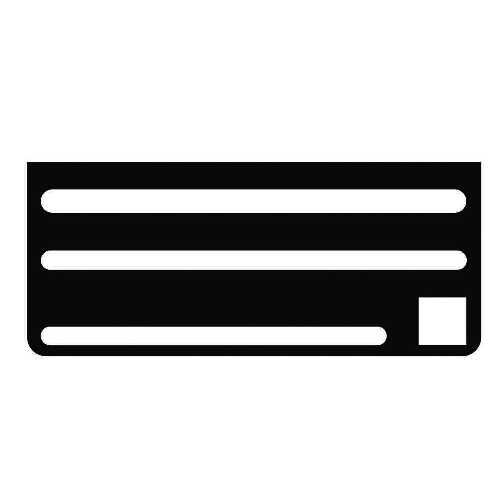 Edlund I068 Knife Rack Insert for KR-50