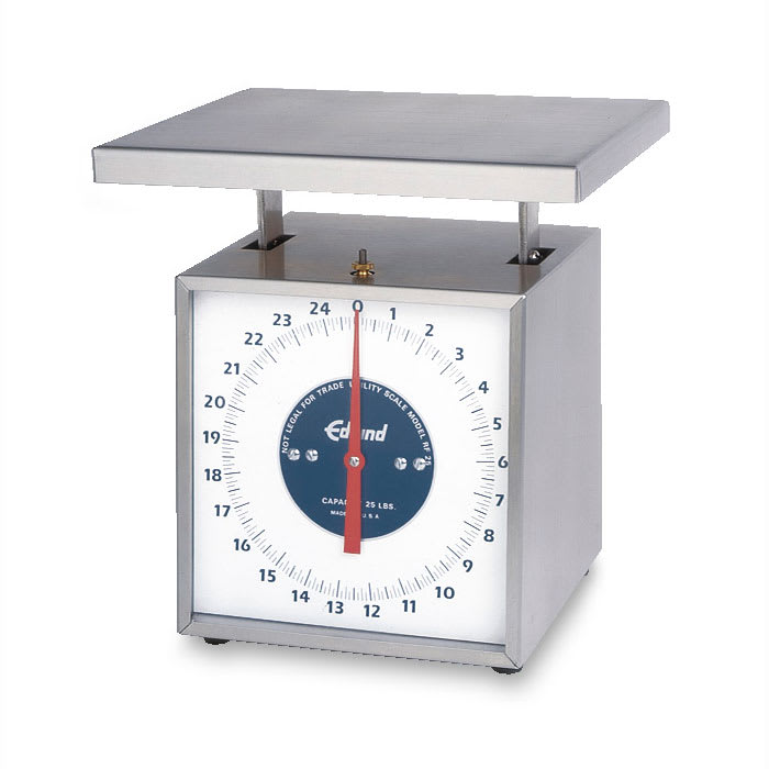 Edlund RF-50 Dial Type Receiving Scale w/ Vertical Face, 50 lb x 40 oz Graduation