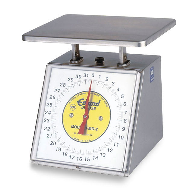 Edlund RM-5000 Dial Type Sloped Face Scale, 5000 gm x 20 gm, Rotating Dial