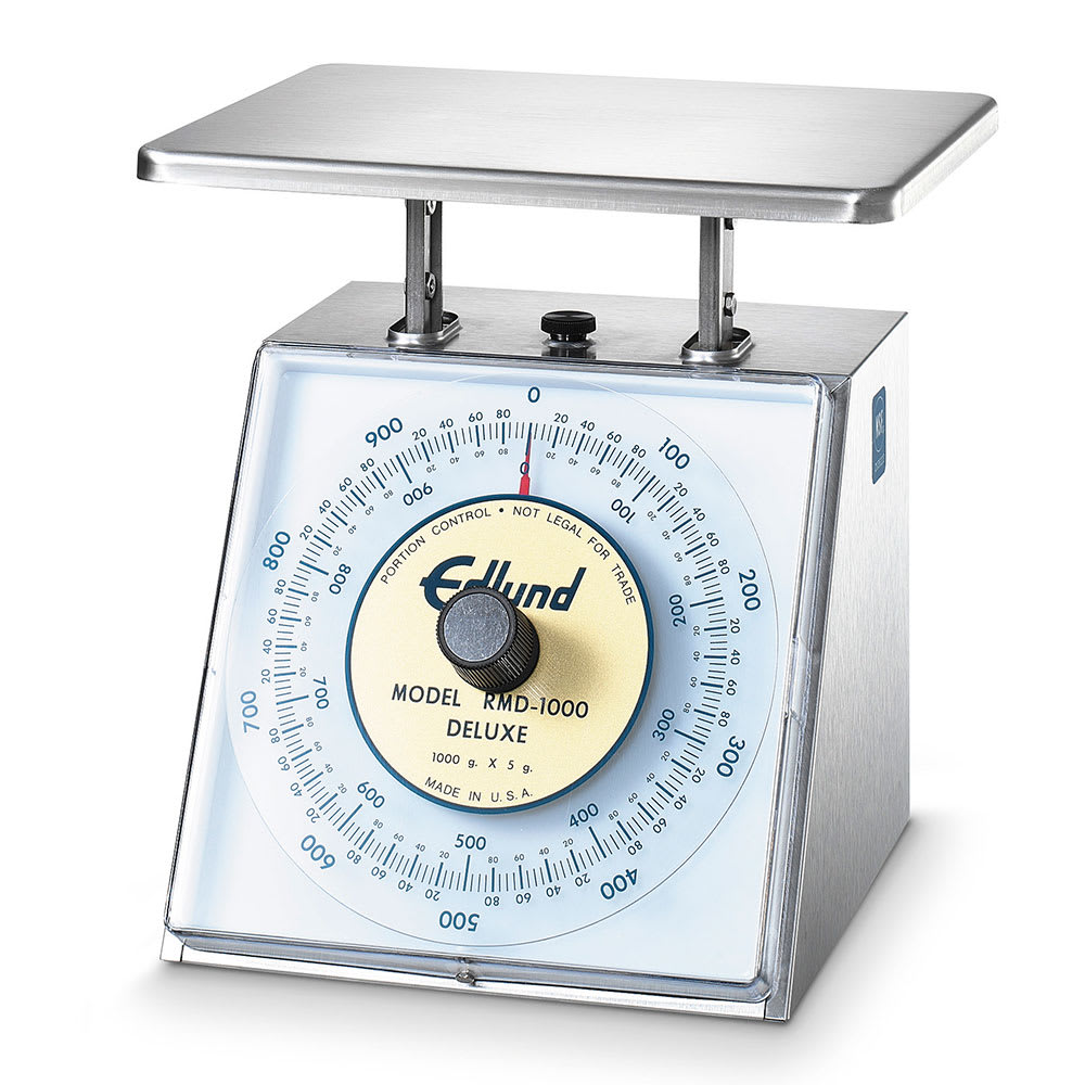 Edlund RMD-1000 Top Loading Counter Model Rotating Dial Scale, 1000 gm x 5 gm