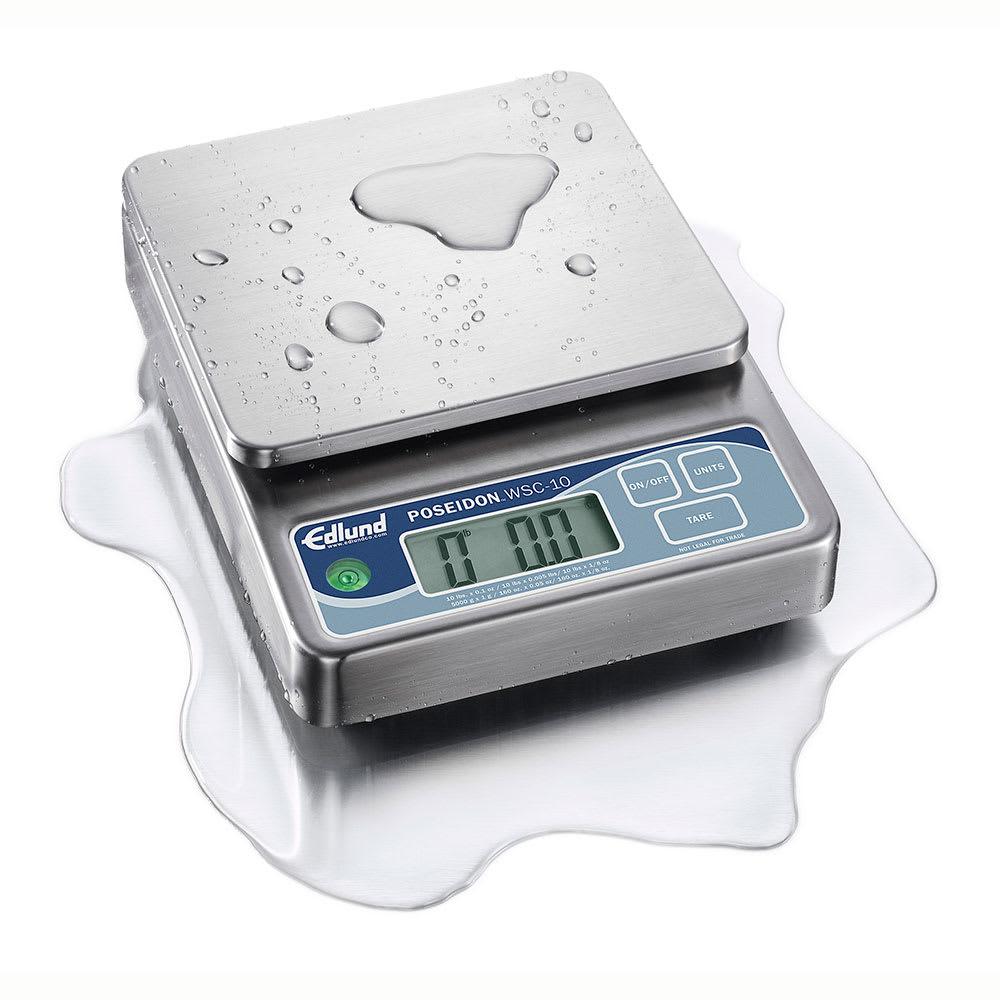 Edlund WSC-20 Digital Portion Scale w/ 6 Display Options, Self-Calibrating