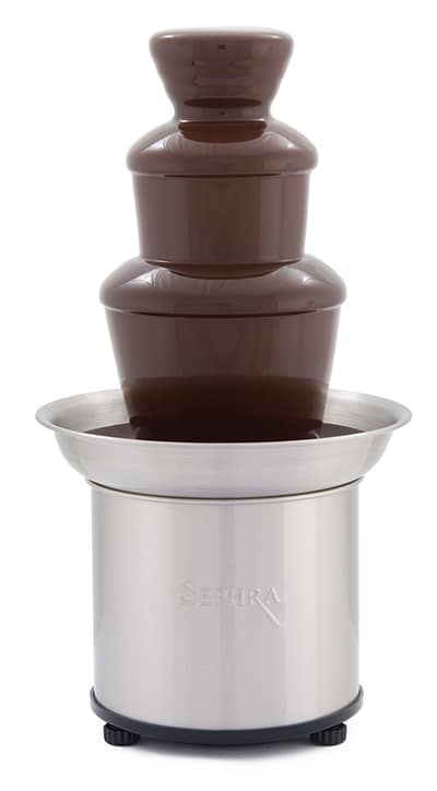 """Sephra 17302 16"""" Select Fountain w/ Motor & Heat Switches, 4 lb Chocolate Capacity"""