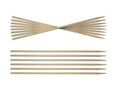 """Sephra 31005 6"""" Bamboo Skewers, 3 mm Dia"""