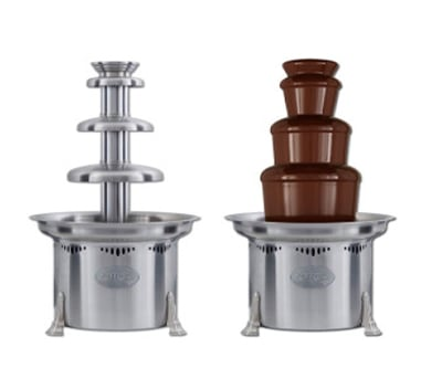 "Sephra CF27R2 27"" 3 Tier Chocolate Fountain w/ 10 lb Capacity"