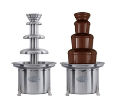 "Sephra CF34R4 34"" 3 Tier Chocolate Fountain w/ 20 lb Capacity"