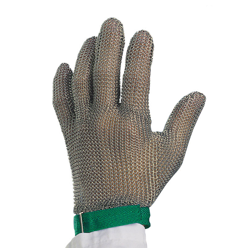 Victorinox - Swiss Army 81501 Wrist Length Glove, 10-Gauge, No Puncture, Green Band, Xtra-Small