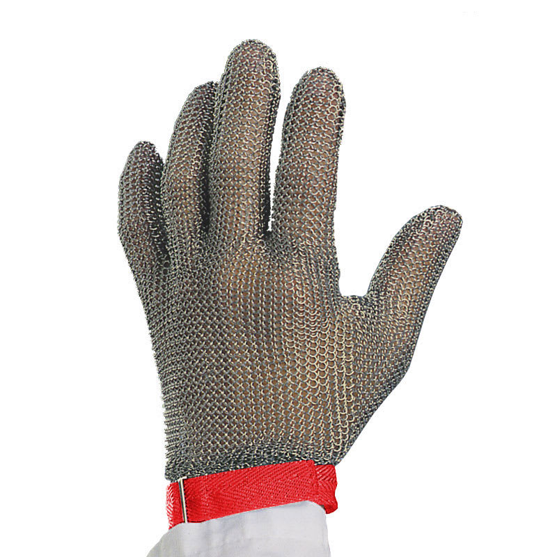 Victorinox - Swiss Army 81503 Wrist Length Glove, 10-Gauge, No Puncture, Red Band, Medium
