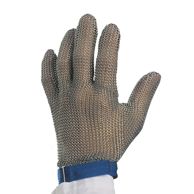 Victorinox - Swiss Army 81504 Wrist Length Glove, 10 Gauge, No Puncture, Blue Band, Large