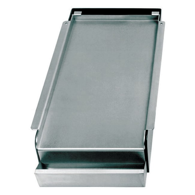 "Franklin Machine 133-1002 11"" Griddle Top - Covers (2) Burners, Nickel Plated Steel"