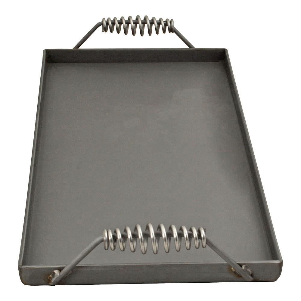 """Franklin Machine 133-1008 Portable Griddle Top w/ Heat Resistant Handles, 10.66x22.66x1"""" Lip"""
