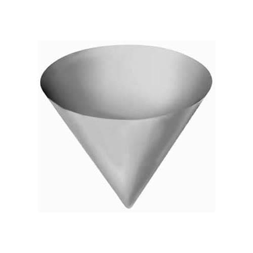 "Franklin Machine 133-1086 Filter Cone for 10"" Round Filter Holder"