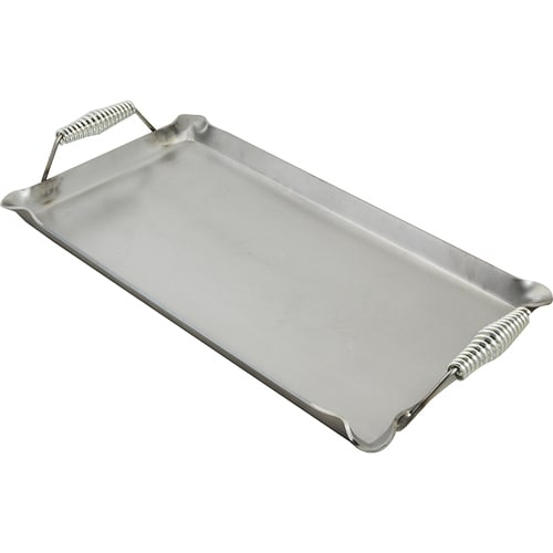 """Franklin Machine 133-1612 Lift-Off Griddle, Fits Two Burners, 14"""" x 24"""", Steel"""