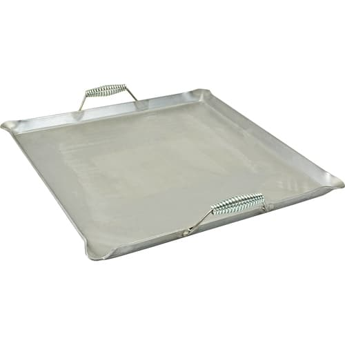 "Franklin Machine 133-1613 Lift-Off Griddle, Fits Two Burners, 24"" x 24"", Steel"