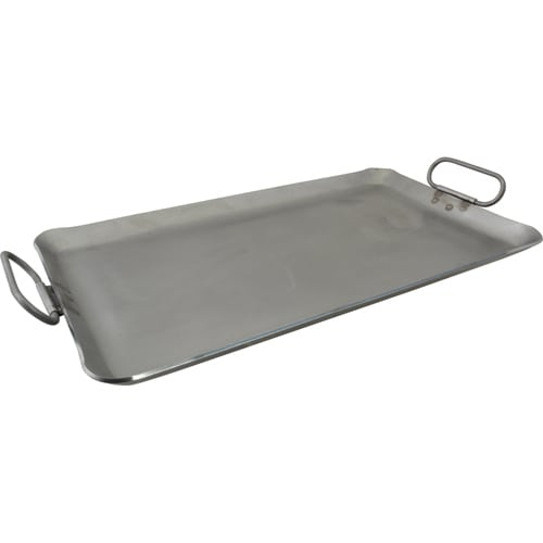 "Franklin Machine 133-1625 Lift-Off Griddle, Fits Two Burners, 14"" x 23"", Steel"