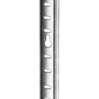 "Franklin Machine 135-1227 36"" Pilaster w/ 1/2"" Shelf Adjustment for Beverage Air Refrigerators, Aluminum"