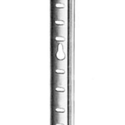 "Franklin Machine 135-1257 36"" Pilaster w/ 1/2"" Shelf Adjustment for Beverage Air SP-60 & Victory UR-5, Stainless"