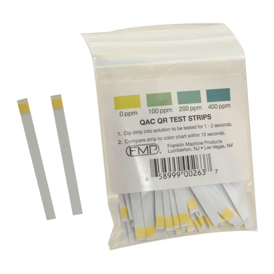 Franklin Machine 142-1363 Litmus Test Strips, for Quaternary Ammonia Compounds